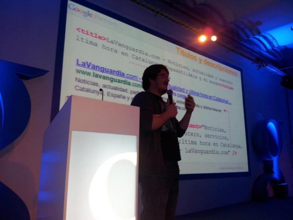 Javier Perez equipo de calidad de Google
