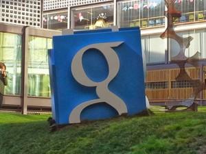 Logotipo de Google en Madrid